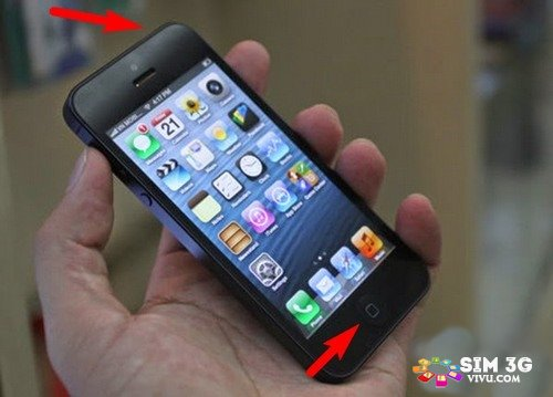 Cách chụp ảnh màn hình điện thoại iPhone 1