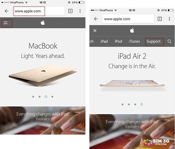 Cách kiểm tra số IMEI iPhone, iPad xem có chính hãng không 2