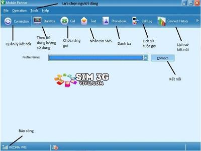 cai dat dcom 3g usb cho máy tính