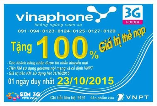 khuyen mai vinaphone 100 ngay 23-10