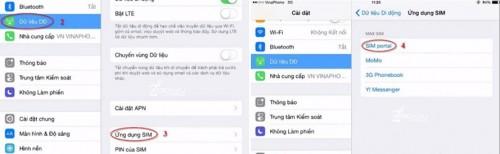 Cách nạp tiền và kiểm tra tài khoản sim 3G trên iPad