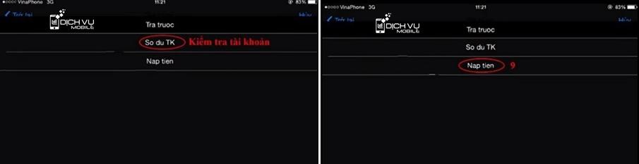 Cách nạp tiền và kiểm tra tài khoản sim 3G trên iPad 4