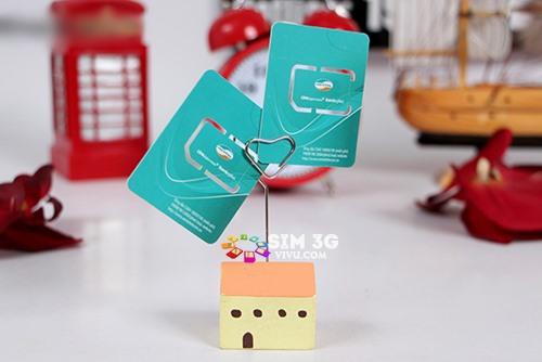 Sim 3G Viettel D30 miễn phí 3,1GB data x12 tháng