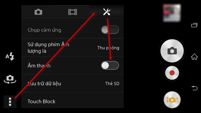 Cách tắt âm chụp ảnh trên điện thoại Android
