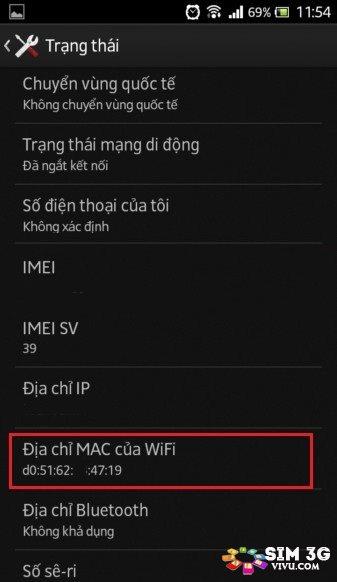 Cách xem địa chỉ MAC Wifi Laptop, điện thoại iPhone, Android 2