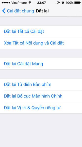 Hướng dẫn xóa toàn bộ dữ liệu cá nhân khỏi iPhone 5