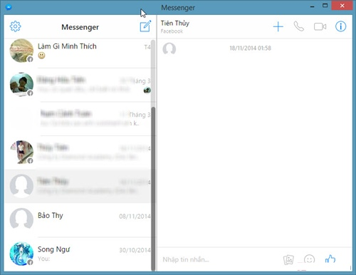 Cách truy cập Facebook Messenger trên máy tính