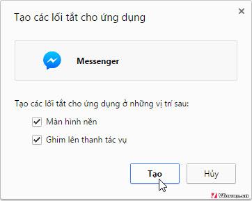Cách truy cập Facebook Messenger trên máy tính 2