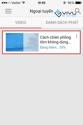 Hướng dẫn cách tải Video trên Youtube bằng iPhone 4