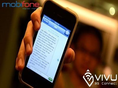 nhận tin nhắn khuyến mãi từ mobifone