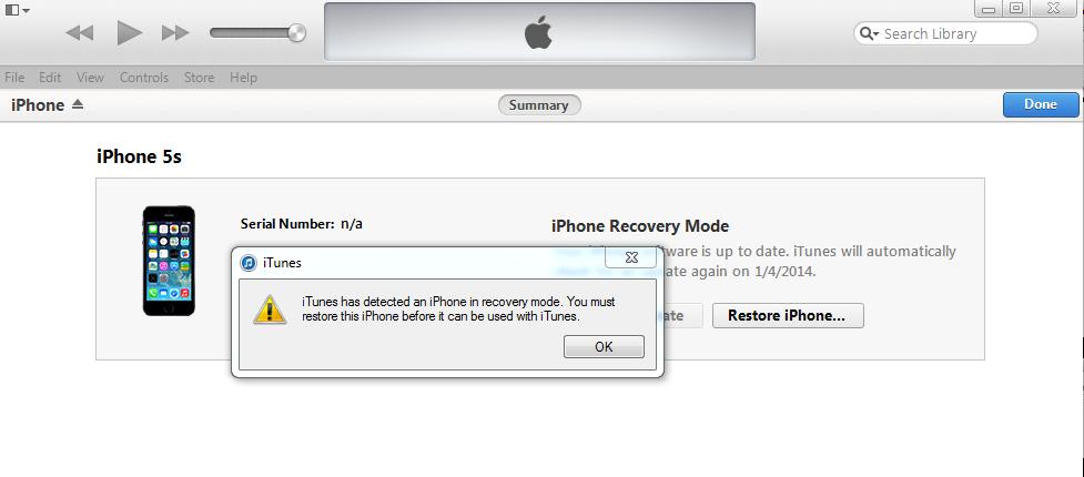 Cách khôi phục iPhone bị khóa PassCode, quên mật khẩu 1