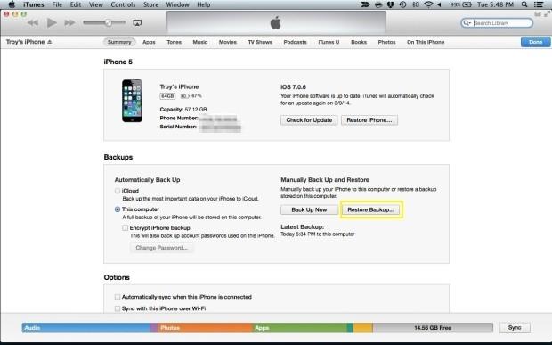 Cách khôi phục iPhone bị khóa PassCode, quên mật khẩu 3