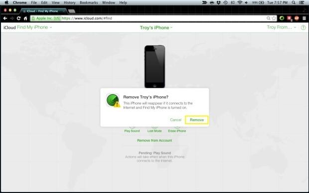 Cách khôi phục iPhone bị khóa PassCode, quên mật khẩu 7