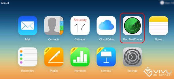 Cách tìm lại iPhone, iPad bị mất 2