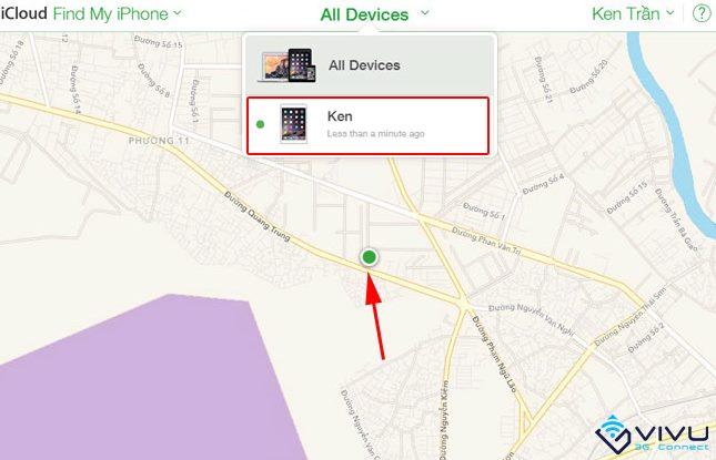Cách tìm lại iPhone, iPad bị mất 3