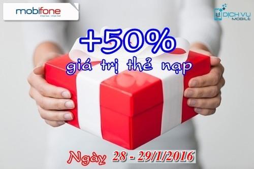 khuyen-mai-mobifone-tang-50-the-nap-ngay-28-va-29-1-2016