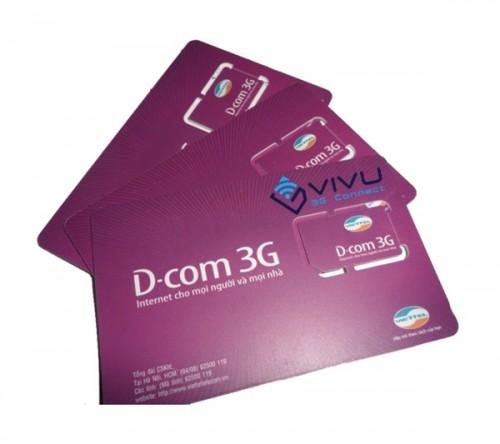 Sim 3G, 4G DC300 Viettel 4GB/tháng trọn gói 6 tháng