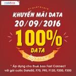 Mobifone khuyến mãi ngày vàng data 20/9/2016