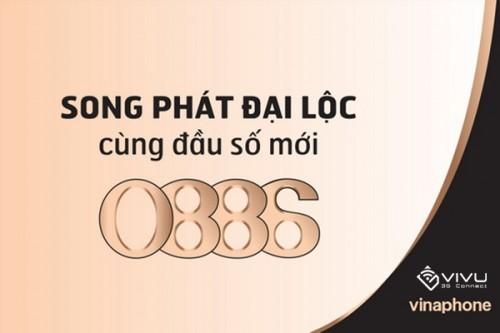 Vinaphone tung ra thị trường đầu số 0886 song phát đại lộc