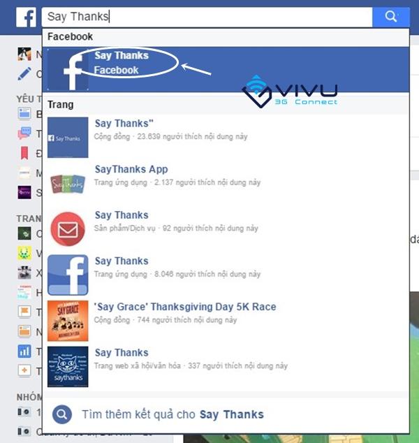 """Cách tạo video """"Say Thanks"""" (Nói cảm ơn) trên Facebook"""