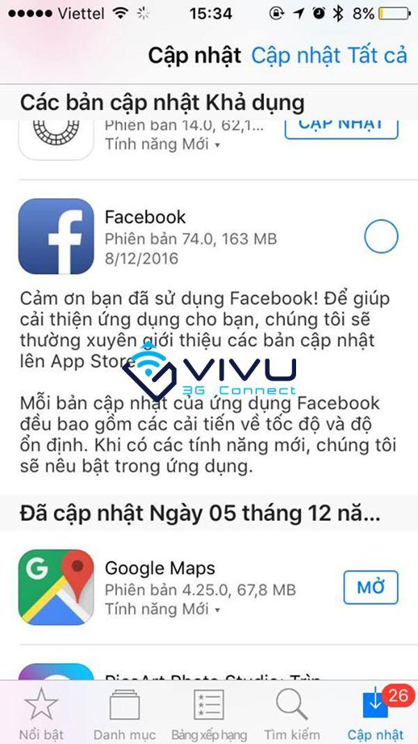 Mẹo tiết kiệm dung lượng 3G khi dùng Facebook