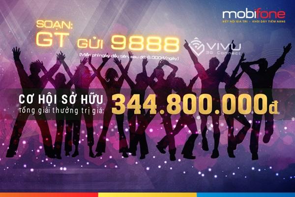 Trúng lớn 100 triệu đồng khi tham gia Nhịp sống trẻ Mobifone