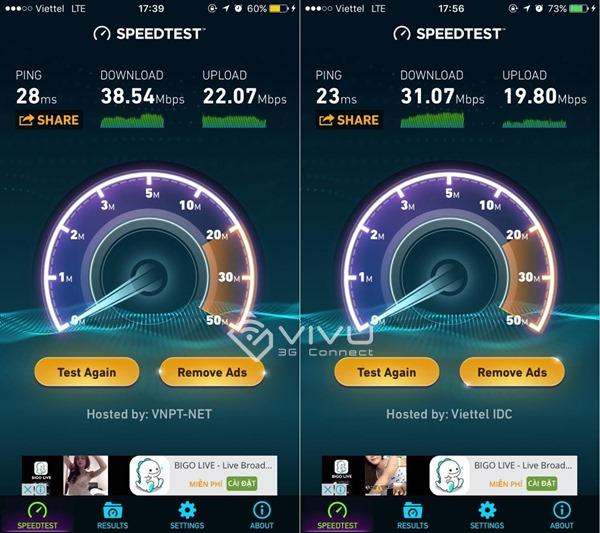 Làm sao để biết vị trí đang dùng có mạng 4G hay chưa?