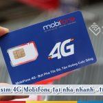 Cách đổi sim 4G Mobifone tại nhà nhanh chóng nhất
