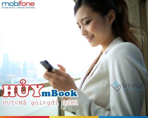 Hướng dẫn hủy dịch vụ mBook Mobifone từ đầu số 9281