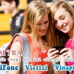 Kiểm tra phút gọi còn lại của gói khuyến mãi Mobifone, Vinaphone, Viettel