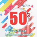Tặng 50% giá trị thẻ nạp Viettel ngày vàng 20/05/2017