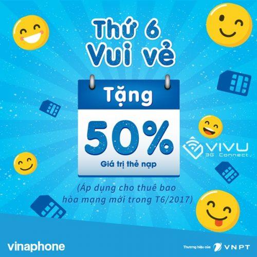 """VinaPhone triển khai chương trình """"Thứ 6 vui vẻ"""""""