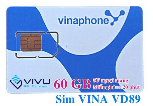Sim Vina VD89 Vinaphone